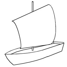 Voile au tiers sur un petit bateau. Source : http://data.abuledu.org/URI/52617b8a-voile-au-tiers-sur-un-petit-bateau
