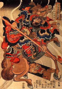 Voleur sur son cheval cabré. Source : http://data.abuledu.org/URI/5310eedf-voleur-sur-son-cheval-cabre