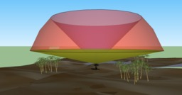 Volume sondé par un radar météorologique. Source : http://data.abuledu.org/URI/5232d9b0-volume-sonde-par-un-radar-meteorologique