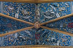 Voûte de la cathédrale d'Albi. Source : http://data.abuledu.org/URI/596d6aa0-voute-de-la-cathedrale-d-albi