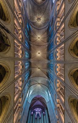 Voutes de Notre-Dame de Paris. Source : http://data.abuledu.org/URI/56d5f0d2-voutes-de-notre-dame-de-paris