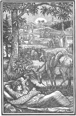 Voyage dans les Cévennes avec un âne. Source : http://data.abuledu.org/URI/47f5f070-voyage-dans-les-cevennes-avec-un-ane