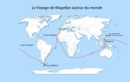 Voyage de Magellan. Source : http://data.abuledu.org/URI/51cf567b-voyage-de-magellan