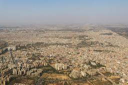 Vue aérienne de New Delhi. Source : http://data.abuledu.org/URI/58cec971-vue-aerienne-de-new-delhi