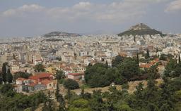 Vue d'Athènes depuis l'Acropole. Source : http://data.abuledu.org/URI/5415e162-vue-d-athenes-depuis-l-acropole
