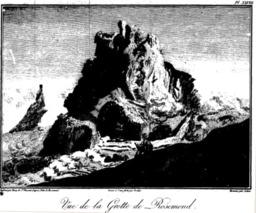 Vue de la grotte de Rosemond à La Réunion en 1804. Source : http://data.abuledu.org/URI/521a3d43-vue-de-la-grotte-de-rosemond-a-la-reunion-en-1804