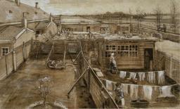 Vue de La Haye en 1882. Source : http://data.abuledu.org/URI/5369cbee-vue-de-la-haye-en-1882