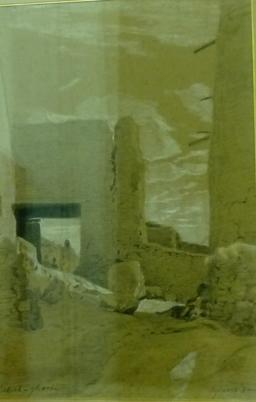 Vue de Laghouat par Fromentin. Source : http://data.abuledu.org/URI/5821f713-vue-de-laghouat-par-fromentin