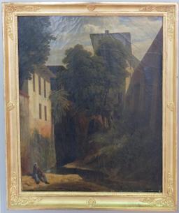 Vue des vieux fossés de Montauban. Source : http://data.abuledu.org/URI/57108d91-vue-des-vieux-fosses-de-montauban