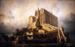 Vue du Mont Saint-Michel. Source : http://data.abuledu.org/URI/54a88d8e-vue-du-mont-saint-michel