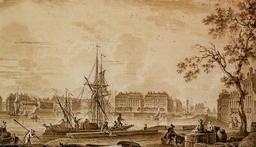 Vue du port de Nantes. Source : http://data.abuledu.org/URI/51cdd82b-vue-du-port-de-nantes