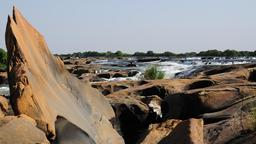 Vue générale des Chutes du Félou au Mali. Source : http://data.abuledu.org/URI/54d3d7a2-vue-generale-des-chutes-du-felou-au-mali