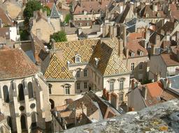 Vue panoramique de Dijon. Source : http://data.abuledu.org/URI/54a7c15a-vue-panoramique-de-dijon
