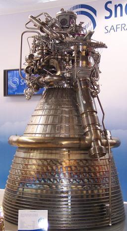Vulcain II de la fusée Ariane. Source : http://data.abuledu.org/URI/534bdd00-vulcain-ii-de-la-fusee-ariane