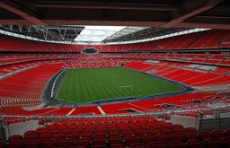 Wembley Stadium à Londres. Source : http://data.abuledu.org/URI/587b676a-wembley-stadium-a-londres