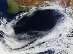 Zone de hautes pressions le 8 Septembre 2012 en Australie. Source : http://data.abuledu.org/URI/52c71417-zone-de-hautes-pressions-le-8-septembre-2012-en-australie
