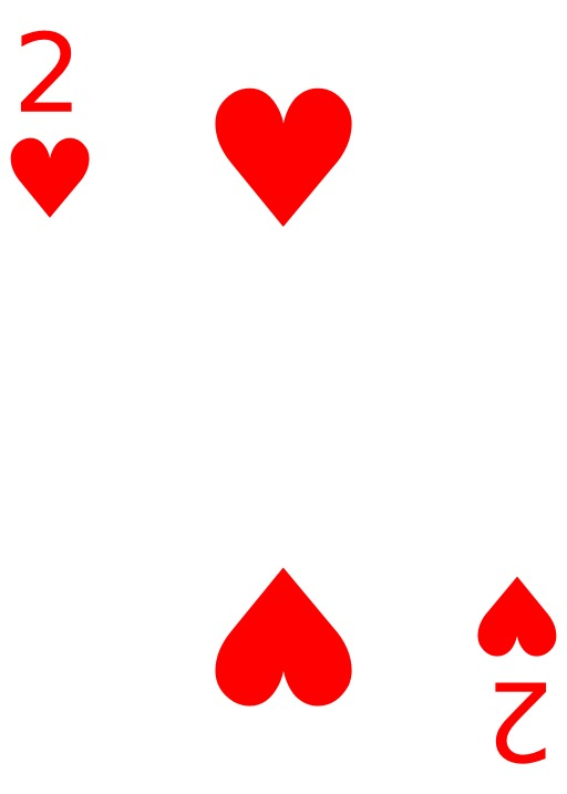 2 de coeur