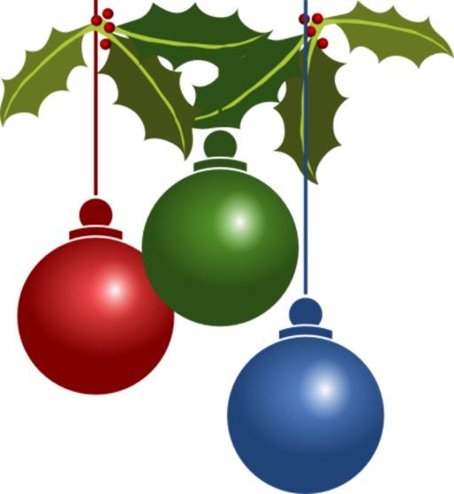 3 boules de Noël
