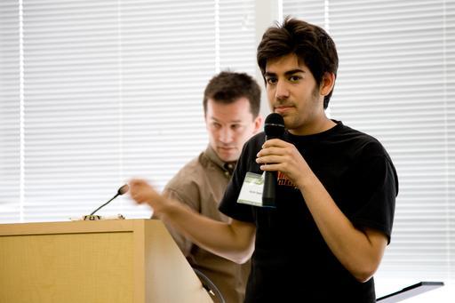 Aaron Swartz en 2008