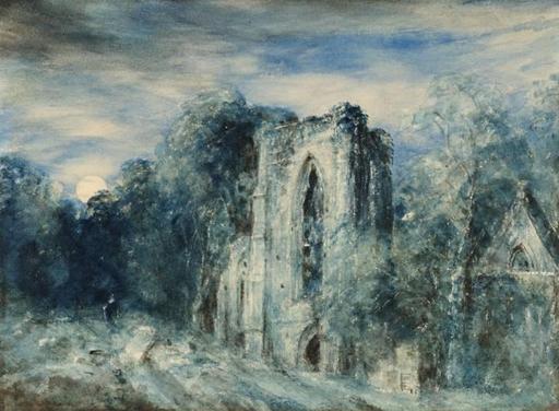 Abbaye de Netley au clair de lune