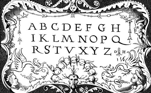 Abécédaire du seizième siècle