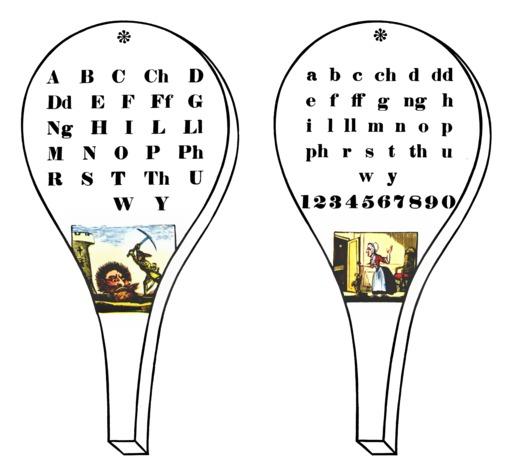 Abécédaire anglais sur tablette