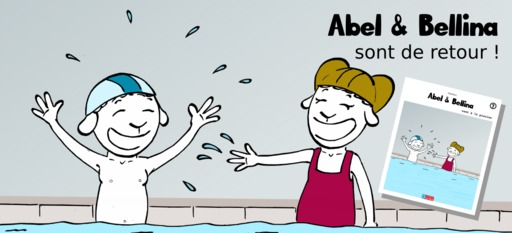 Abel et Bellina à la piscine - 00