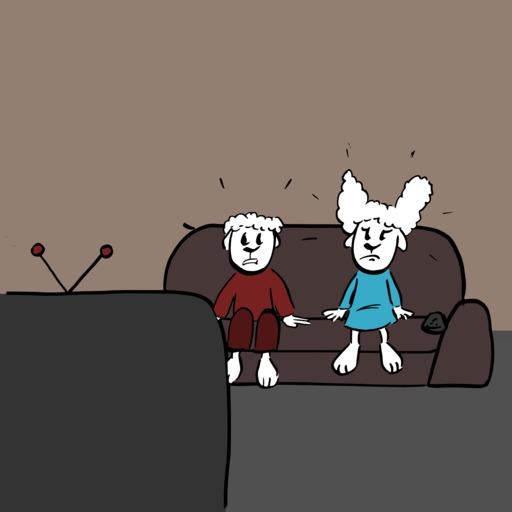Abel et Bellina et la télé - 02