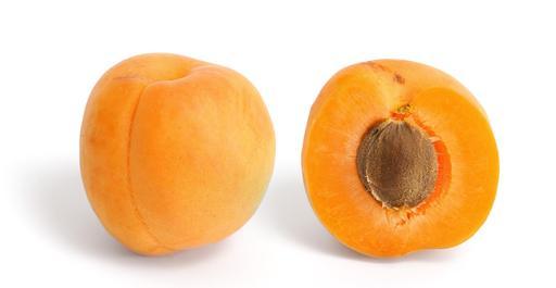 Abricot et coupe