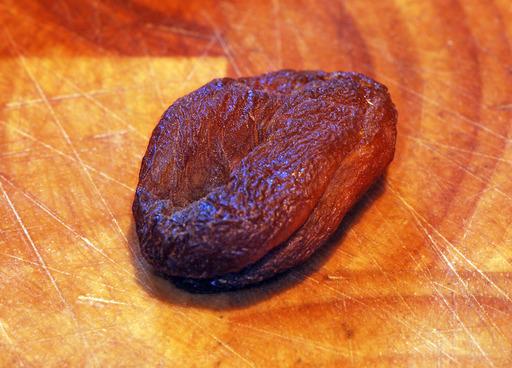 Abricot sec non traité