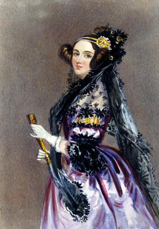 Portrait de Ada Lovelace en 1840