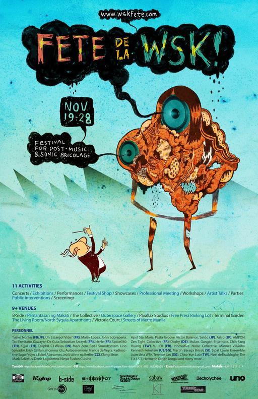 Affiche 2010 de la fête de la WSK