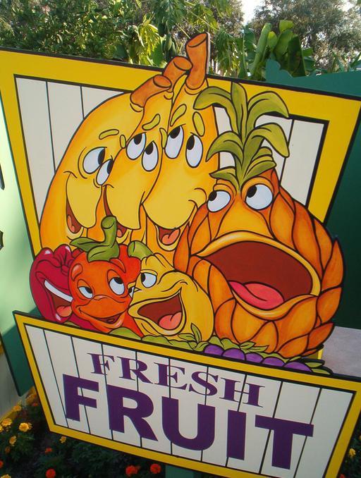 Affiche de carnaval culinaire