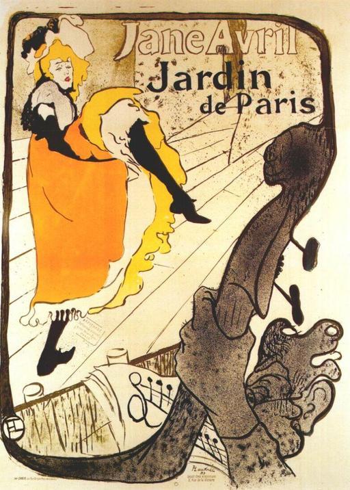 Affiche de Jane Avril
