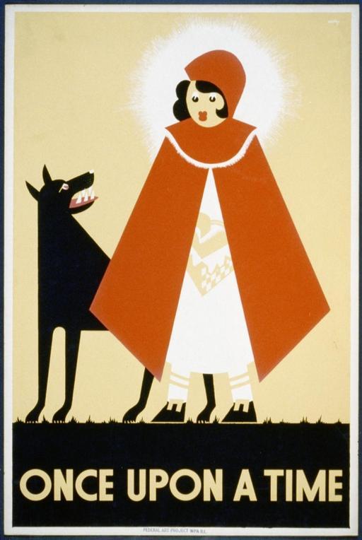 Affiche du chaperon rouge
