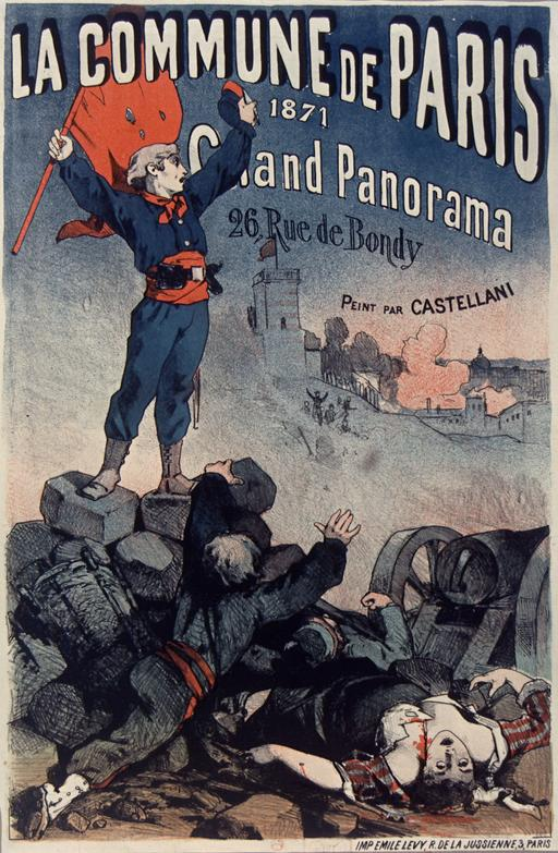 Affiche La Commune de Paris 1871