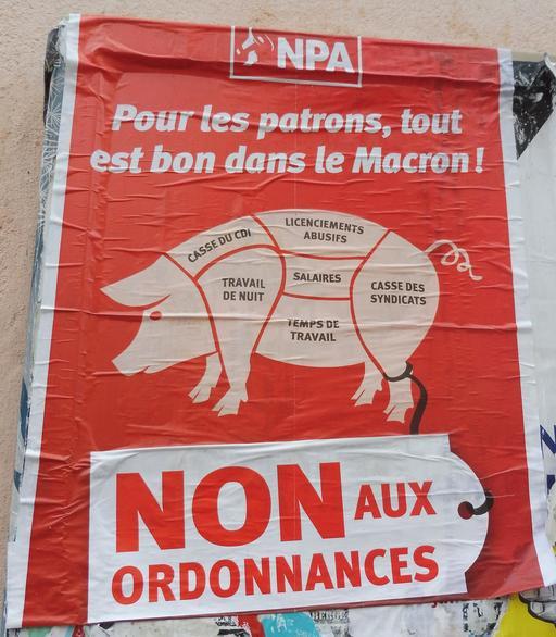 Affiche NPA à Albi