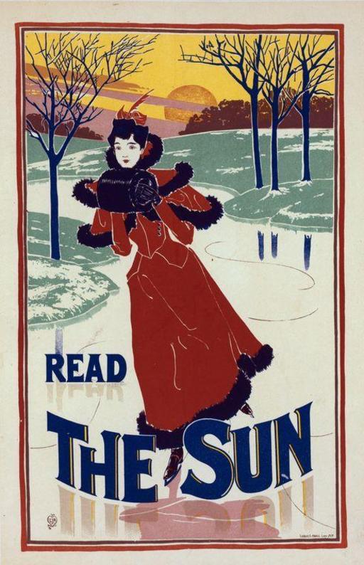 Affiche publicitaire américaine