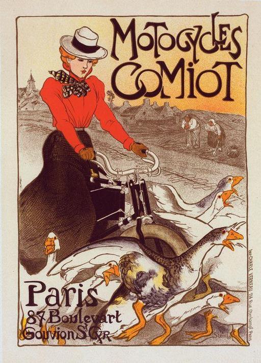 Affiche publicitaire française