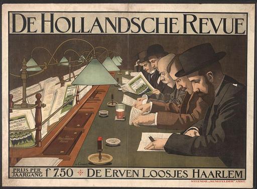 Affiche publicitaire hollandaise
