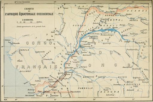 Affluents du Congo en 1896
