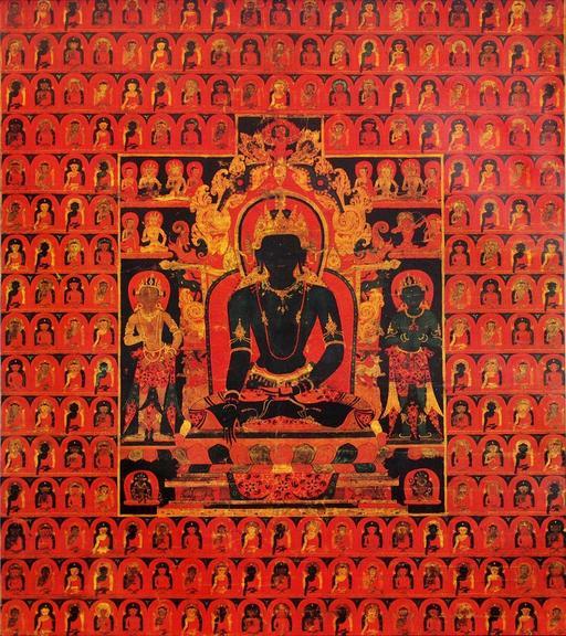 Akshobhya l'impassible, un des Dhyani Bouddhas