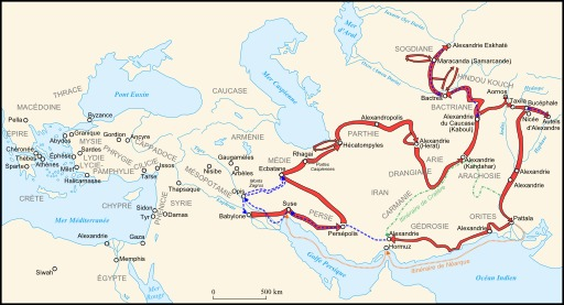 Alexandre III de Babylone à l'Indus