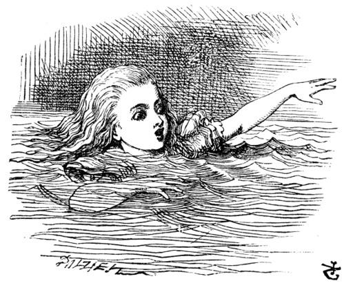 Alice dans une mare de larmes salées