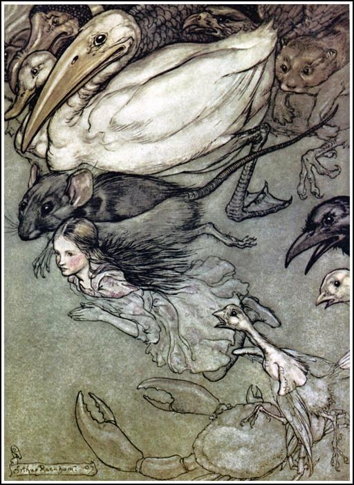 Alice et la mare de larmes
