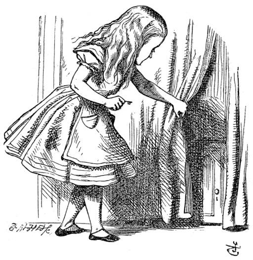 Alice et la petite clef
