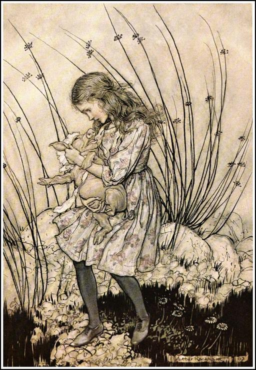 Alice et le bébé porcelet