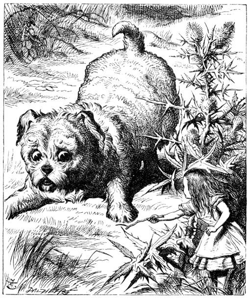 Alice et le chiot