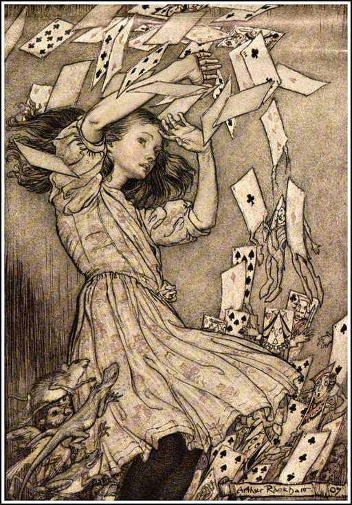 Alice et le paquet de cartes