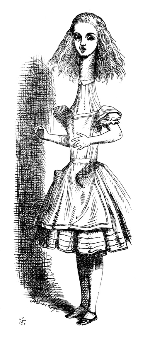 Alice grandit comme un télescope